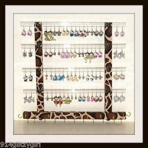TEEN GG Earring Holder Jewelry Organizer GIRAFFE Animal Print