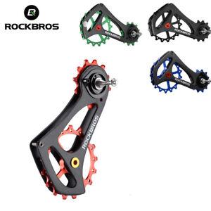 RockBros-Carbon-Fiber-Bike-Rear-Derailleur-Cage-Pulley-Kit-17T-For-Sram-Kits-New