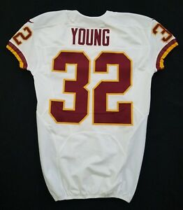 #32 Young of Washington Redskins NFL Locker Room Game Issued Jersey