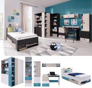 Details Zu Jugendzimmer Kinderzimmer Komplett Space Set F Eckschrank P1 Schreibtisch Regale