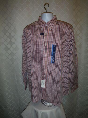 Croft /& Barrow Long Sleeve Button Front Men/'s Shirts XXL,XL,L,M,S,Multi Color NW