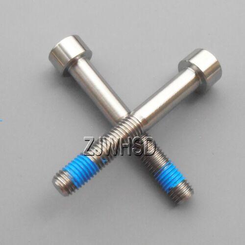 Thread Locker 2pcs M7 x 50 mm Titanium Ti Screw Bolt Allen Hex Socket Cap Head
