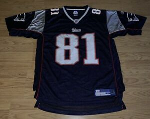 save off 60cc9 5ac0f Details about RANDY MOSS NEW ENGLAND PATRIOTS JERSEY NE NFL FOOTBALL BRADY  TOM BLUE RED WHITE