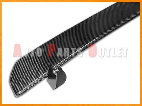 Carbon Fiber Rear Under Diffuser Lip Spolier For 2015-2016 SUBARU WRX STI SEDAN