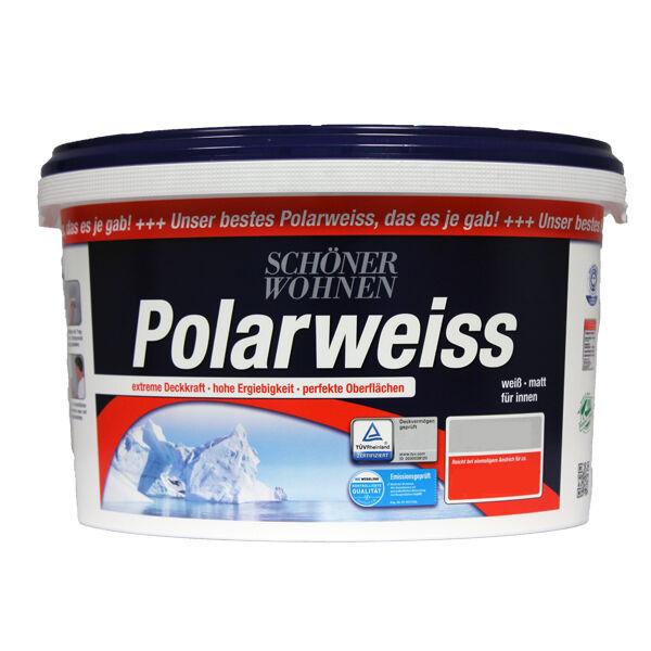 Schoner Wohnen Polarweiss 10l Matt Farbe Weiss Gunstig Kaufen Ebay