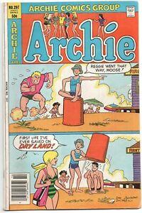 Archie-297-1980-FN-Betty-Veronica-Swimsuit-Bikini-Life-Guard-Dan-Decarlo