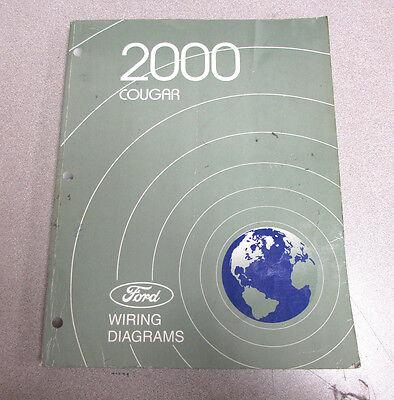 2000 Mercury Cougar Wiring Diagram Manual | eBay