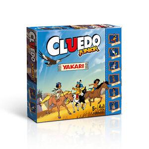 Cluedo-Junior-Edition-Yakari-Kinder-Spiel-Gesellschaftsspiel-Brettspiel-deutsch