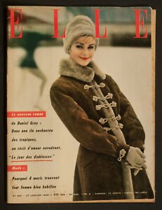 039-ELLE-039-FRENCH-VINTAGE-MAGAZINE-27-JANUARY-1958