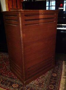 leslie speaker cabinet 147 type with combo preamp cable. Black Bedroom Furniture Sets. Home Design Ideas