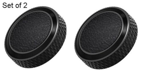 Set Of Two Shutter Release Button for Fujifilm Cameras Black For Fuji