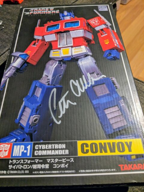 Transformers Masterpiece MISB MP-1 OPTIMUS PRIME CONVOY signed by PETER CULLEN