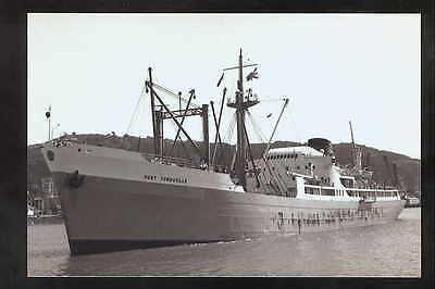 rp00140 - Port Line Cargo Ship - Port Townsville , built 1951 - photo 6x4