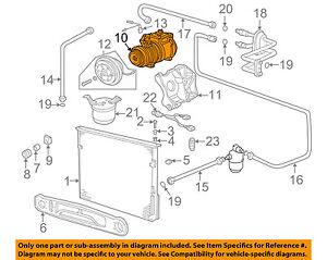 bmw oem 01 02 z3 a c ac compressor 64528386650 ebay rh ebay com bmw e90 ac diagram bmw e36 ac wiring diagram