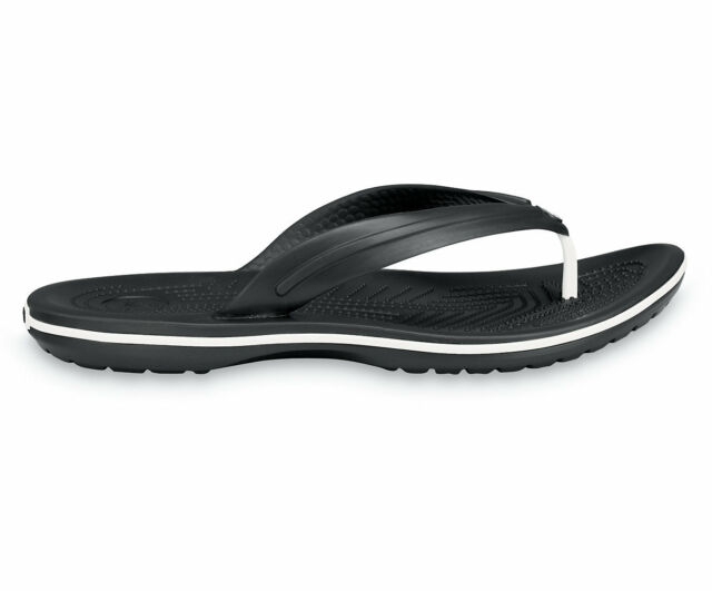 beb574ece NEW Genuine Crocs Mens and Womens Crocband Flip Black - Australia Store