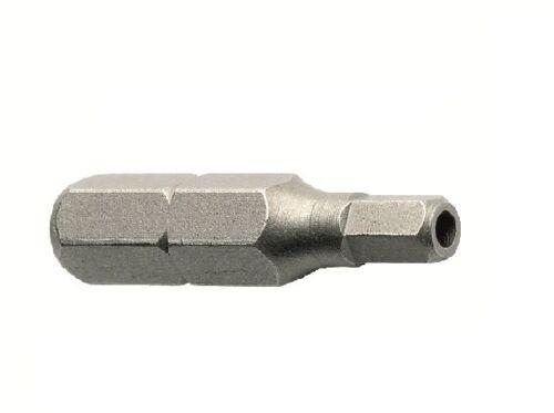 M8 x 20 Pin Hex Button Head Machine Screw Anti Vandal A2-10 PACK FREE BIT