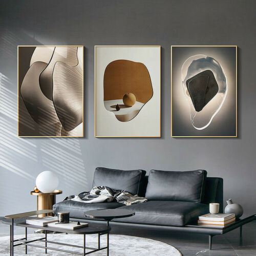 Geometric Abstract Print Still Life Canvas Wall Art Painting Modern Home Decor
