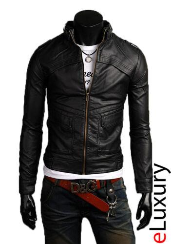 Uomo Promozione Men Giacca Pelle In 44 Veste Giubbotto Di M10 Jacket Tg Leather YxwaxFqXr