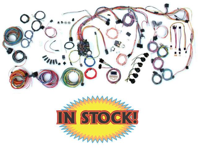 1968 chevy nova custom update wiring harness kit american autowire rh ebay co uk