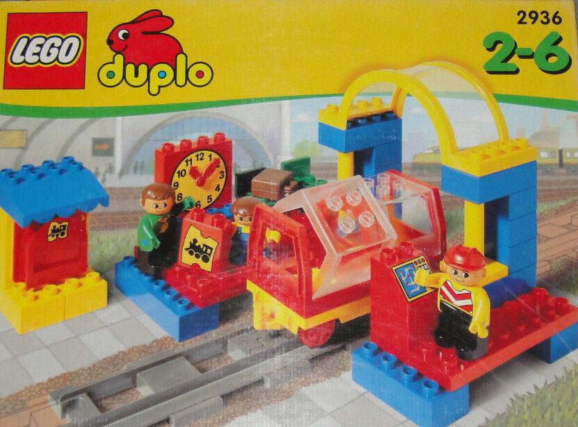 ● Lego Duplo 2936 OVP NEU Bahnhof Eisenbahn Anhänger für Diesel Lok Cargo