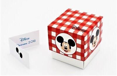 N.20 Scatola Bomboniera Con Apertura Fleur Portaconfetti Inserto Disney Mickey M