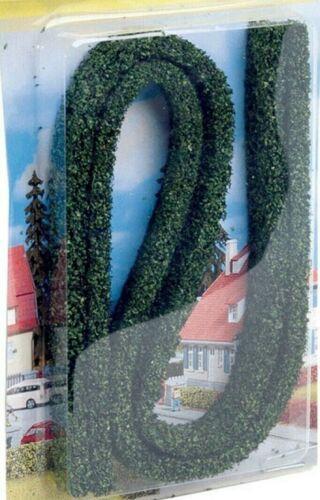 5,99€//m NOCH 21514 Hecken 2 Modellhecken dunkelgrün 15 x 8 mm 500 mm lang