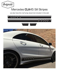Mercedes-AMG-CLA-45-style-Custom-side-stripes
