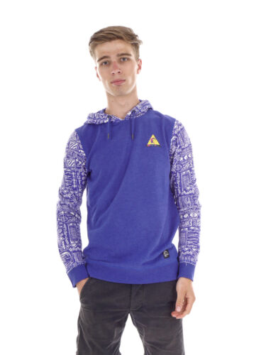 O /'Neill sweatpullover con cappuccio Pullover Heritage PRINTED blu all-over