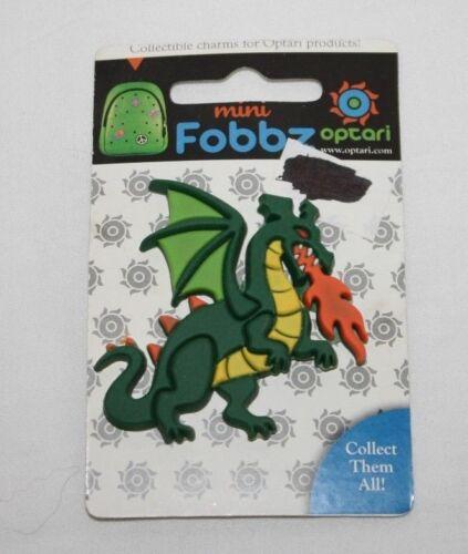 OPTARI Mini Fobbz Charm Dragon Fire Breathing Dragon
