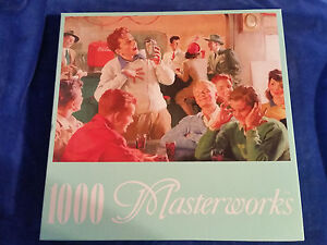 2002-Coca-Cola-Rose-Art-1000-Pc-Puzzle-Diner-Dork-Sealed