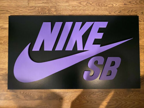 Nike SB Skateboarding Skateboard Sign Logo Display Artwork Wall Art