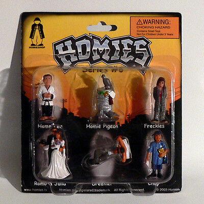 NEU Series #6 Set 1-1:32-4,5 cm Homies Figuren // Figures Rarität OVP