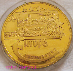 Med7651 - Medaille Europa Euro 2003 Luxembourg Larges VariéTéS