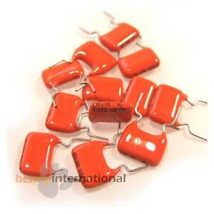 10x-0-15uF-150nF-100V-MKT-CAPACITOR-PHILIPS-Metallized-Polyester-Film