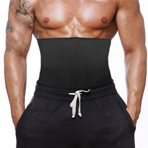 Men Slimming Neoprene Body Shaper Vest Tank Top Zipper Waist Trainer Sauna Suit