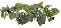 24 Frosted Grape Swag Silk Flowers Wedding Arch Home Decor Artificial Greenery
