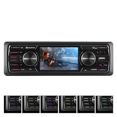 "[OCCASION] auna MD-550BT Autoradio multimédia Deckless BT USB SD 3"" TFT AUX Télé"