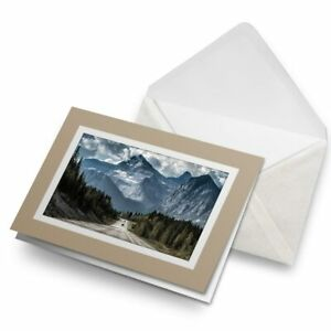 Greetings-Card-Biege-Awesome-Mountain-Road-Landscape-8549