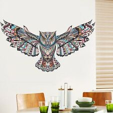 DIY Removable Creative Owl Vinyl Wall Sticker Home Living Room Fridge Decor New