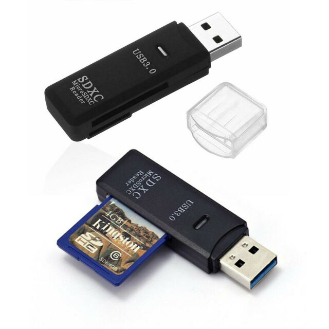 Multi Card Reader All in one USB 3.0 Micro SD//SDXC TF T-Flash Memory Card Reader