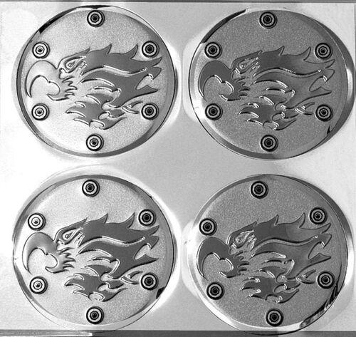 Alu Dragon Dragon dragon argent MOYEU BOUCHONS Autocollant