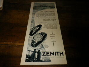ZENITH-MONTRES-Publicite-de-presse-Press-advert-1956