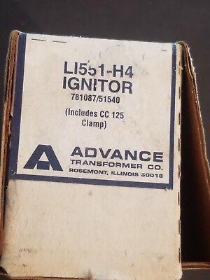 ADVANCE LAMP IGNITOR  L1551H4 NEW