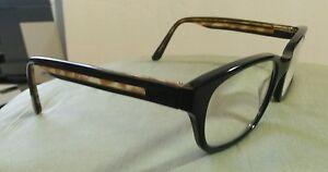 link occhiali 55 18 140 eyeglasses frames black tortoise