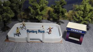 Skating-Rink-H0-Scale-1-87-Kit-Winter-Christmas