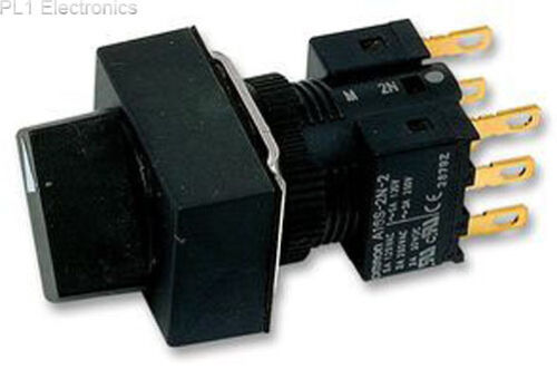 OMRON Industrial Automation a165s-j2m-2 INTERRUTTORE SELETTORE