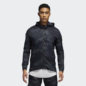 2c14c0f95b5c8 Men s Clothing adidas Supernova TKO DPR Jacket Men New Mens Black Dark Grey  CF2905