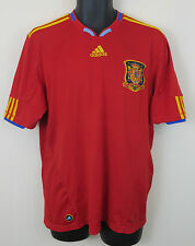 Adidas España Camiseta De Fútbol 2010 España Camisa Copa Del Mundo Fútbol Jersey euros L