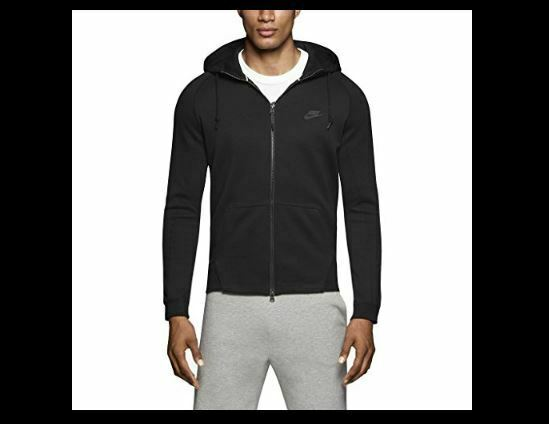 Nike Tech Fleece Men/'s Full Zip Zip Pockets Jacket Size L M S Black