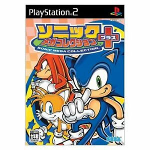 SONIC-MEGA-COLLECTION-Playstation2-PS2-Import-Japan